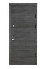 Двері вхідні Цитадель Оптима Дует венге сірий
