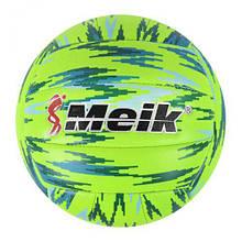"""Мяч футбольный """"Meik"""", зеленый C44438"""