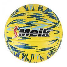 """Мяч футбольный """"Meik"""", желтый C44438"""