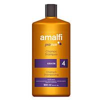 Профeсійний шампунь з кератином Amalfi Keratin 900 ml.