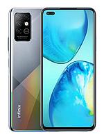 "Смартфон Infinix Note 8 6/128Gb Gray, 64+2+2+2/16Мп, 6.95"" IPS, 2sim, 4G, 5200мАһ, Helio G80"
