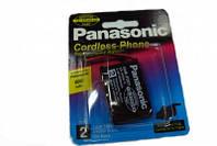 NI-Cd аккумулятор Panasonic (Р301), 600 мАч емкости, надёжное автономное питание