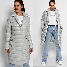 Жіноча трендова стьобаний куртка LS-8867