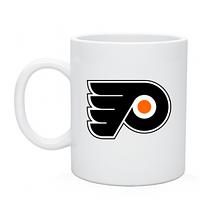 Кружка с логотипом Philadelphia Flyers, хоккейный клуб