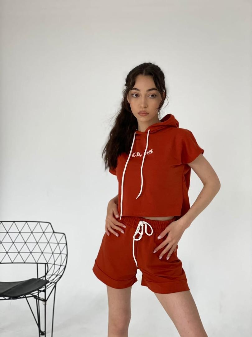Жіночий літній спортивний костюм «oh yes»