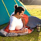 Теплый спальный мешок-кокон туристический для рыбалки и кемпинга в палатку Bestway 230*80 см спальники 68103, фото 4