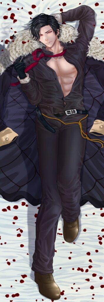 150 х 50 Подушка 800 Грн для обнимания Люцифер обнимашка Дакимакура аниме ростовая односторонняя