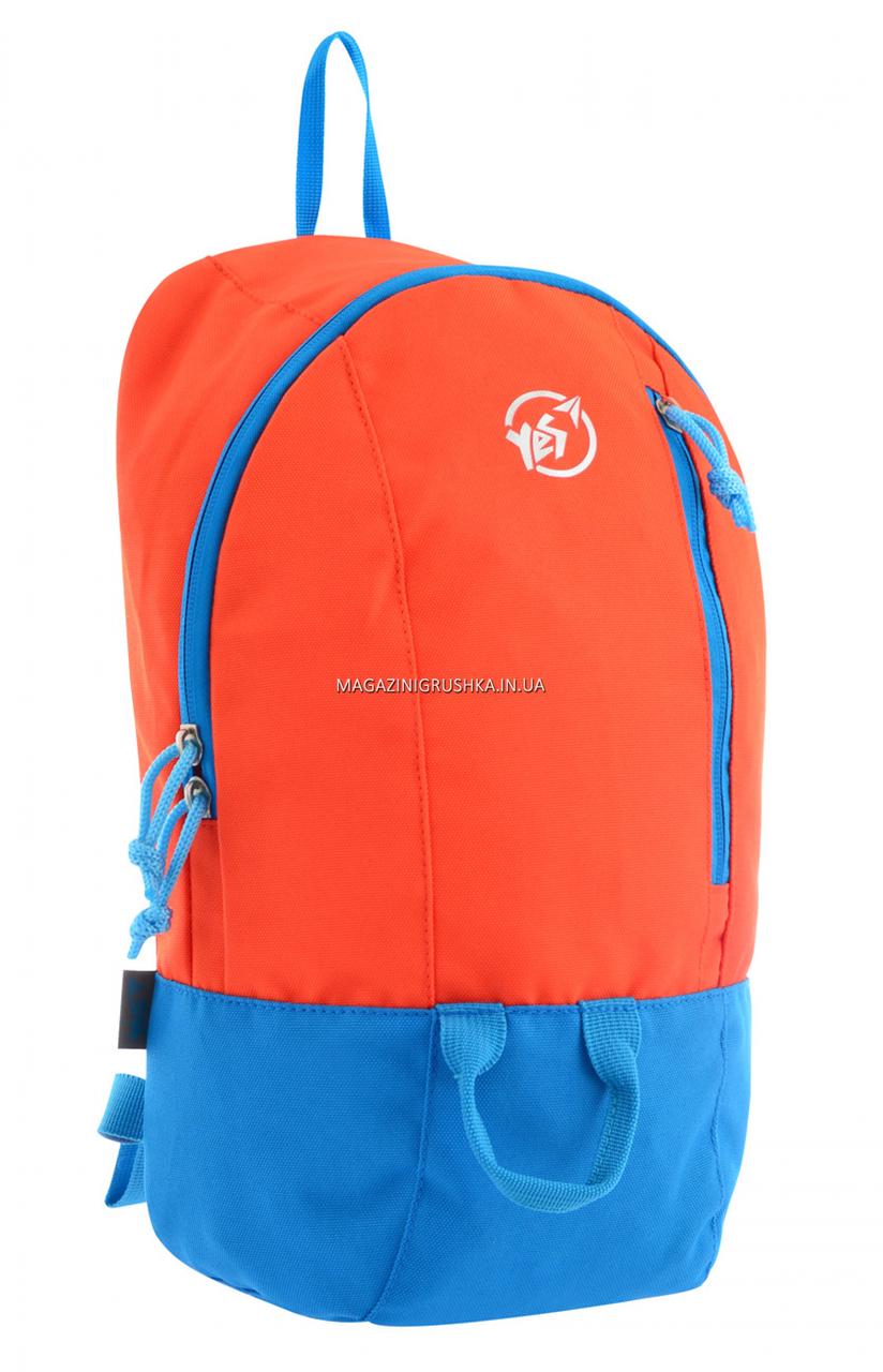 Рюкзак спортивный YES VR-01, оранжевый (557171)