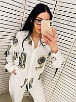 Рубашка женская белая Chocolate 21-70363