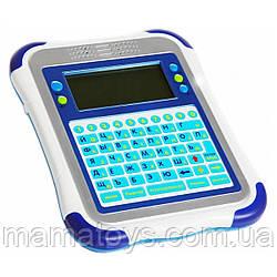 Детский обучающий планшет 7175 Play Smart Синий 32 функции, 2 языка (русский - английский)