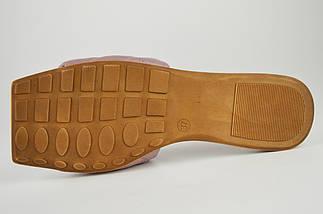Лиловые шлепанцы женские Altura 5286 39 натуральная кожа, фото 2