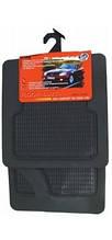 Авто килимки гумові човник 2см універсальні! Килимки в салон автомобіля (комплект 4 шт.) Чорний. CLASSIC