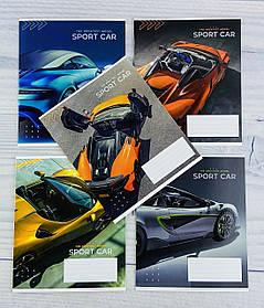 Тетрадь 12 листов клетка Sport car 0432/2511+ 12880Ф++ Школярик Украина