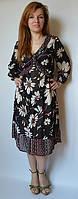 Платье летнее, шифоновое, на 44-46 размеры