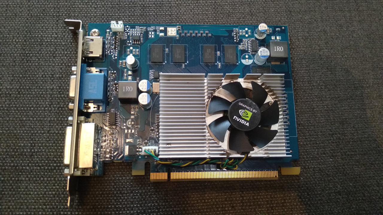 ВІДЕОКАРТА PCI-E GEFORCE c HDMI : 9500 GS на 512 MB 128 BIT УЦІНКА-РОЗ'ЄМ VGA ! з ГАРАНТІЄЮ