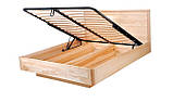 Дерев'яне ліжко Олтон з підйомним механізмом, фото 4