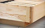 Дерев'яне ліжко Олтон з підйомним механізмом, фото 7