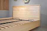 Дерев'яне ліжко Олтон з підйомним механізмом, фото 5