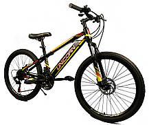 """Велосипед Unicorn - Brisk 24"""" розмір рами 15"""" чорний, фото 2"""
