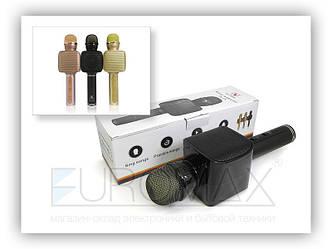 Микрофон караоке с подсветкой (цвета) YS68 50шт 9576