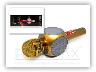 Микрофон караоке с подсветкой (цвета) WS1816 2 сорт 40шт 9081