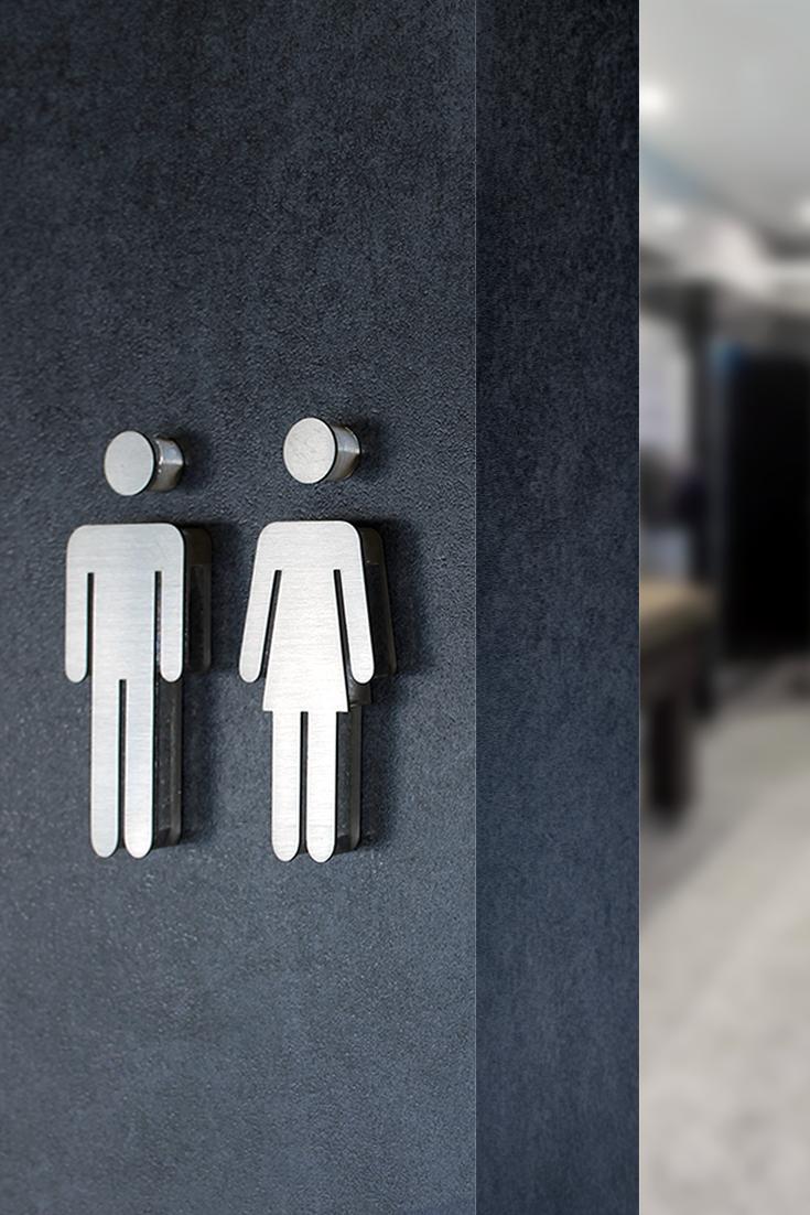 Піктограма для туалету М