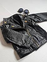 Курточка косуха для дівчинки, фото 1