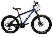 """Спортивный велосипед Unicorn - Super 26"""" Колеса 17 Рама Алюминий черно-желтый, фото 3"""
