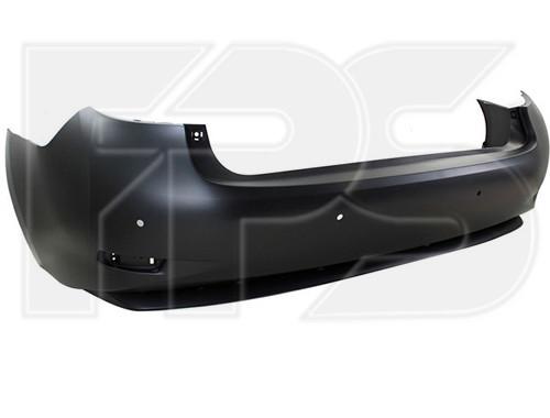 Бампер задній Lexus ES 12-15 (Тайвань) з отв. під п/тронік, під гібридну модель