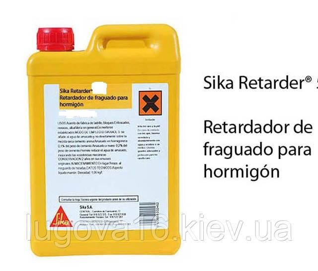 Добавка замедляющ. процесс схватыв. цемента SikaRetarder, 25кг