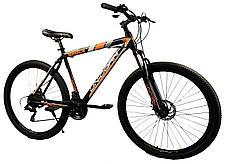 """Велосипед Unicorn - Shock 29"""" размер рамы 17"""" черно-золотистый, фото 3"""