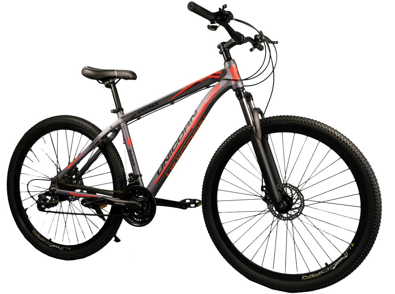 """Спортивный велосипед Unicorn - Energy 29"""" дюймов 20 Рама Алюминий серо-оранжевый"""