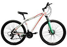 """Спортивный велосипед Unicorn - Energy 29"""" дюймов 20 Рама Алюминий серо-оранжевый, фото 3"""