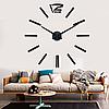 Большие креативные настенные 3Д часы 3D часы DIY Clock 70-150см