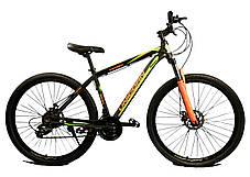 """Спортивный велосипед Unicorn - Energy 29"""" дюймов 20 Рама Алюминий черно-зеленый, фото 2"""