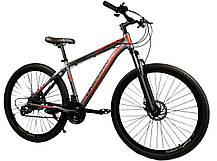 """Спортивный велосипед Unicorn - Energy 29"""" дюймов 20 Рама Алюминий черно-зеленый, фото 3"""
