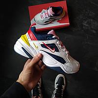 Жіночі кросівки Nike M2K Tekno шкіряні, фото 1