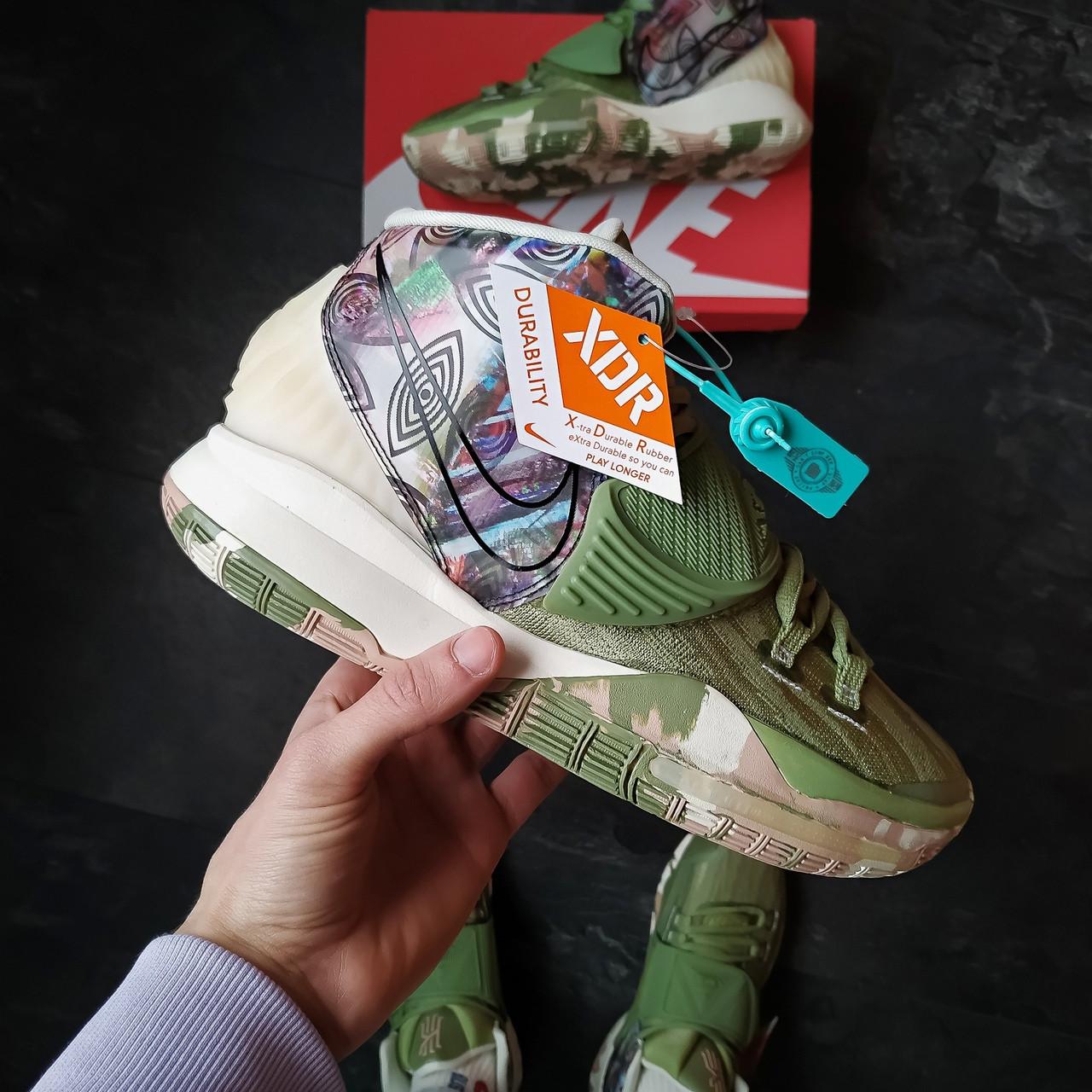 Мужские кроссовки Nike Kyrie 6 (хаки)