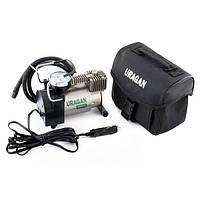 """Автокомпрессор """"URAGAN 90130"""" для подкачки шин R13-R16 в прикур. 12В, 7 Атм, 37 л/мин."""