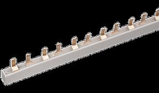 Шина з'єднувальна PIN (штир) 3Р 63А довж. 1м IEK