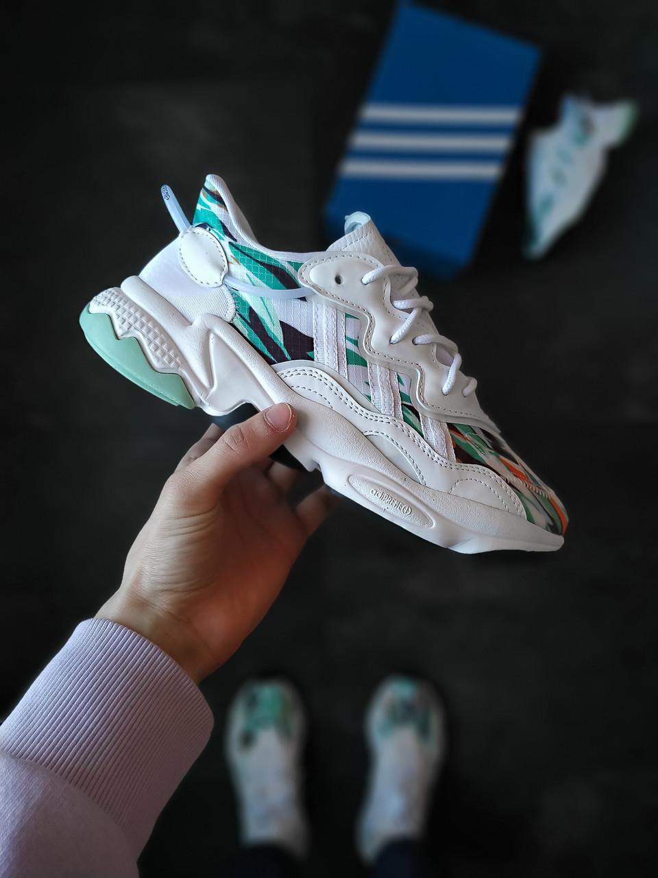 Чоловічі кросівки Adidas Ozweego бірюзові