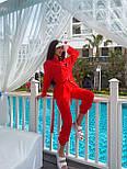 Летний костюм женский с рубашкой приталенной и джоггерами (р. 42-46) 71101803, фото 4