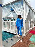 Летний костюм женский с рубашкой приталенной и джоггерами (р. 42-46) 71101803, фото 9