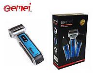 Бритва, триммер, машинка для стрижки волос головы, усов и бороды Gemei GM-589 тример электробритва
