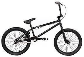 Трюковий велосипед ВМХ-5 20 ДЮЙМІВ чорний
