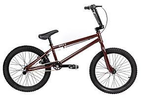 Трюковий велосипед ВМХ-5 20 ДЮЙМІВ коричневий