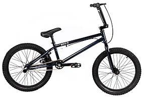 Трюковий велосипед ВМХ-5 20 ДЮЙМІВ синій