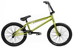Трюковий велосипед ВМХ-5 20 ДЮЙМІВ хакі