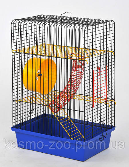 "Клетка для хомяков ""Хомка"" № 4 краска"