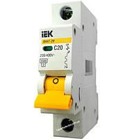Автоматический выключатель ВА47-29 1Р 20А C20 4.5кА С IEK